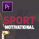 Sport Motivational Opener - VideoHive Item for Sale