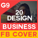 Facebook Cover - 20 Design Bundle - GraphicRiver Item for Sale