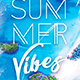 Summer Vibes Creative Party Flyer - GraphicRiver Item for Sale