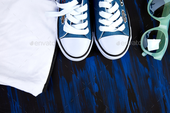 Spring or summer outfit. - Stock Photo - Images