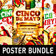 Cinco de Mayo Party Poster Bundle vol.2 - GraphicRiver Item for Sale