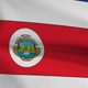 Costa Rica Animated Flag - VideoHive Item for Sale