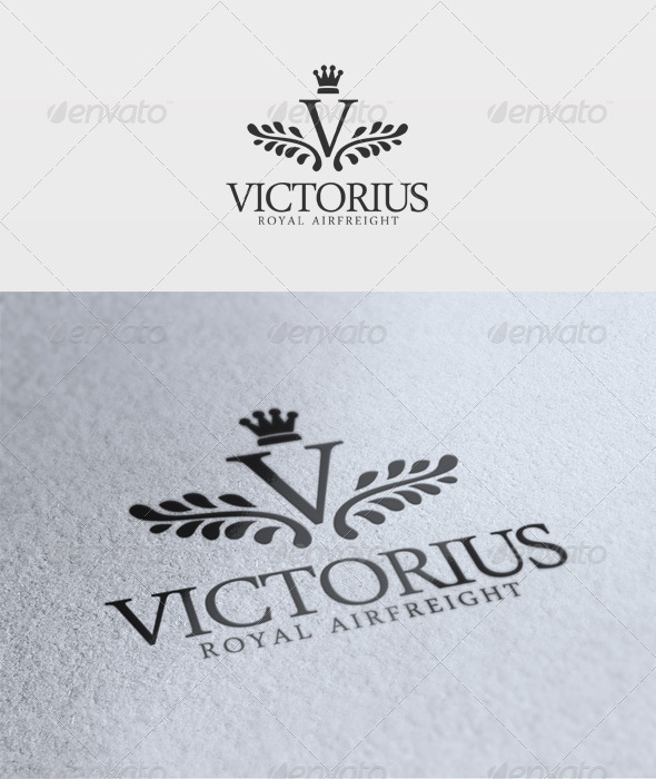 Victorius Logo - Letters Logo Templates
