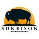 Sun Bison Logo Template
