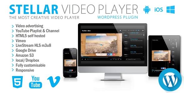 Stellar Video Player - Wordpress plugin - CodeCanyon Item for Sale