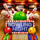 Bowling Night Flyer - GraphicRiver Item for Sale