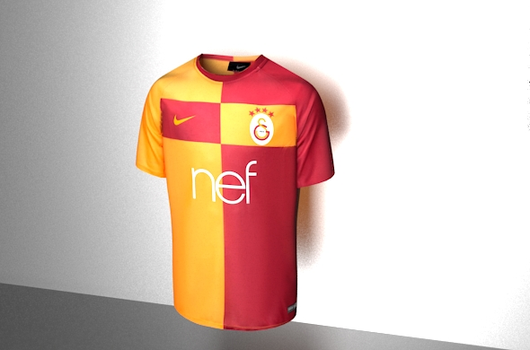 GALATASARAY UNIFORM 3D MODEL - 3DOcean Item for Sale