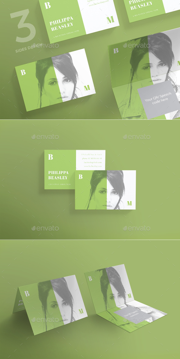 Beauty Meetings Business Card - Corporate Business Cards