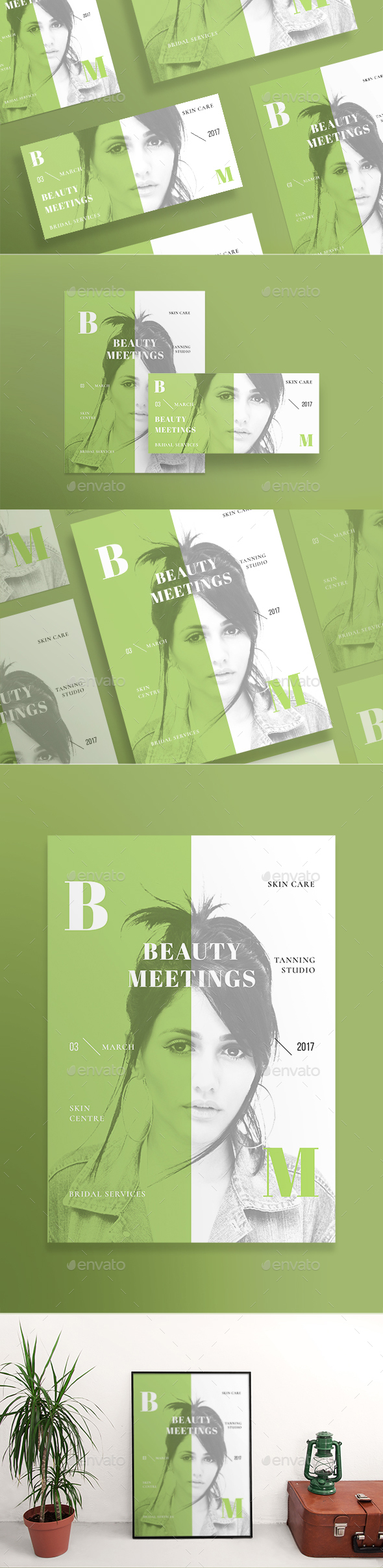 Beauty Meetings Flyers - Miscellaneous Events