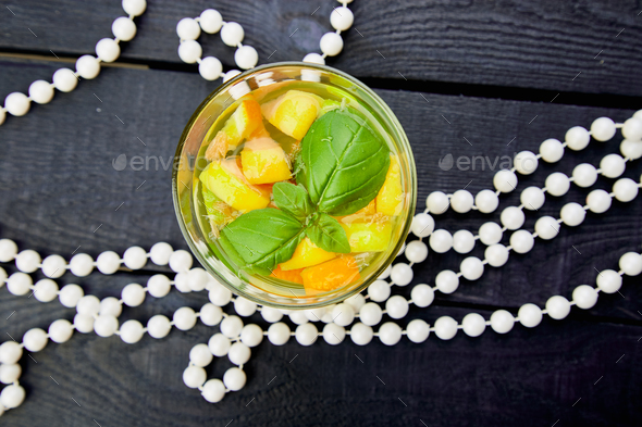 Fresh Detox water with citrus - Stock Photo - Images