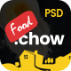 FoodChow - A Food Ordering PSD Template - ThemeForest Item for Sale