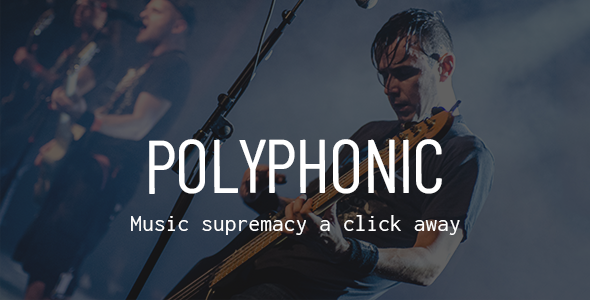 Image of Polyphonic - A Theme for Independent Musicians and Labels