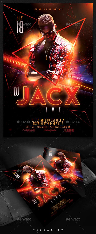 Guest DJ / Artist Flyer