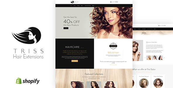 Triss - Saloon & Barber Store Shopify Theme - Health & Beauty Shopify