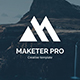 Marketer Pro Multipurpose Powerpoint Template - GraphicRiver Item for Sale