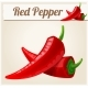 Red Spicy Peppers - GraphicRiver Item for Sale