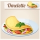 Omelette with Vegetables - GraphicRiver Item for Sale