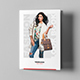 Brochure – Fashion Look Book Tri-Fold A5 - GraphicRiver Item for Sale