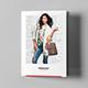 Brochure – Fashion Look Book Tri-Fold A5 - GraphicRiver Item for Sale