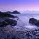 Sunset Over Rocks Formation Giant's Causeway, County Antrim, Northern Ireland - VideoHive Item for Sale