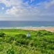 Panorama of White Park Bay, Ballycastle, County Antrim, Northern Ireland - VideoHive Item for Sale