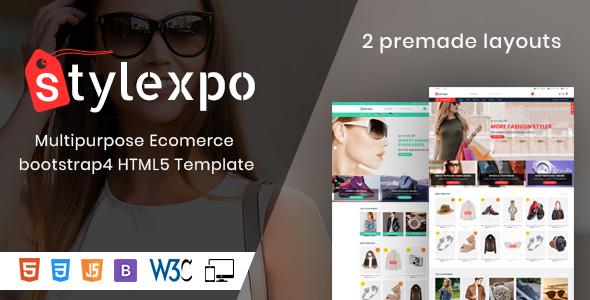 Image of Stylexpo- Responsive Multipurpose E-Commerce HTML5 Template