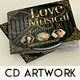 Love Musical CD Artwork - GraphicRiver Item for Sale