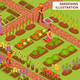 Gardening Isometric Composition - GraphicRiver Item for Sale