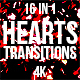 Heart Confetti Transitions - VideoHive Item for Sale