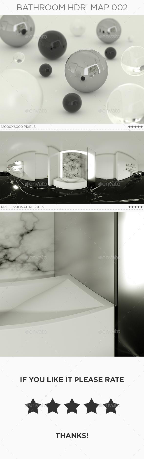 Bathroom HDRi Map 002 - 3DOcean Item for Sale