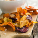 Mixed fried vegetable chips. - PhotoDune Item for Sale