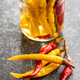 Pickled hot chili peppers. - PhotoDune Item for Sale