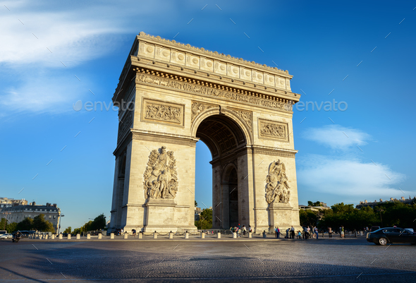 Arc de Triomphe - Stock Photo - Images