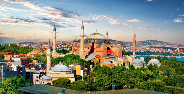 Hagia Sophia in Turkey - Stock Photo - Images