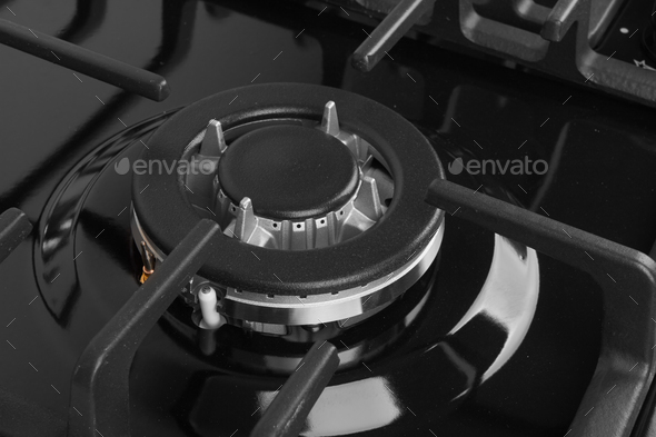 Gas stove isolated - Stock Photo - Images