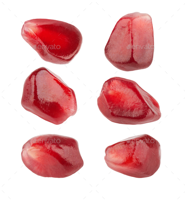 Pomegranate seeds closeup - Stock Photo - Images