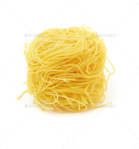 pasta on white - Stock Photo - Images