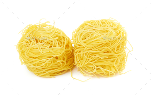pasta on white - Stock Photo - Images
