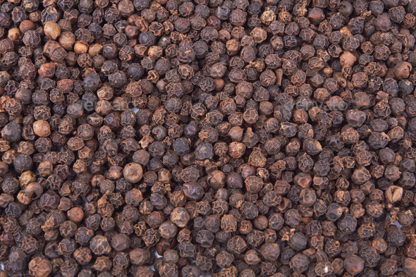 Black pepper spicy - Stock Photo - Images