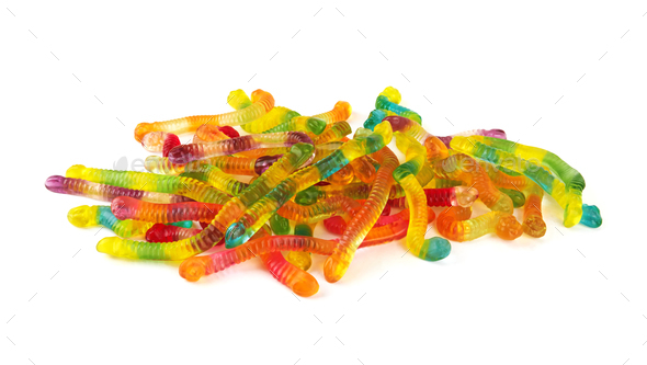 neon gummy candies - Stock Photo - Images