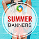Summer Banner Set - GraphicRiver Item for Sale