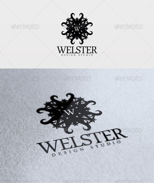 Welster Logo - Letters Logo Templates