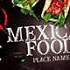 Mexican Food Flyer - GraphicRiver Item for Sale