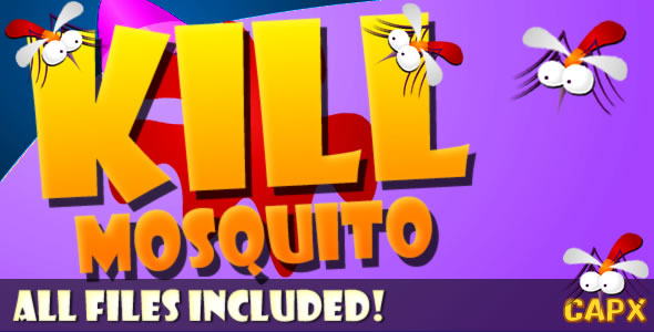 Kill Mosquito (CAPX & HTML) Game! - CodeCanyon Item for Sale