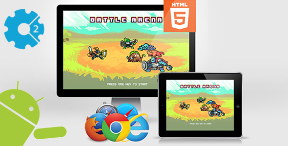Battle Arena - HTML5 Game (CAPX) - CodeCanyon Item for Sale