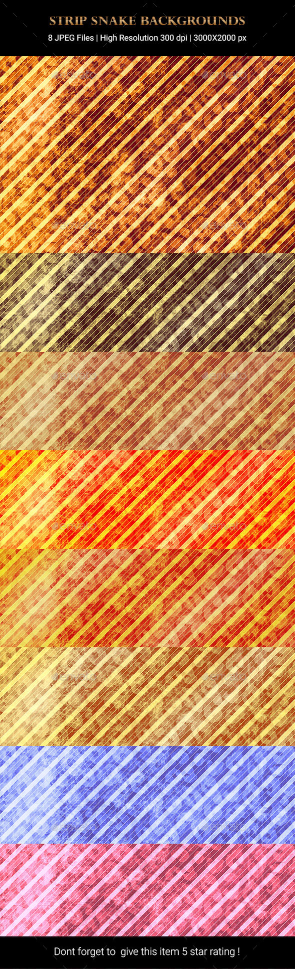 Strip Snake Backgrounds - Backgrounds Graphics