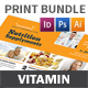 Vitamin Store Print Bundle - GraphicRiver Item for Sale