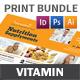 Vitamin Store Print Bundle - GraphicRiver Item for Sale