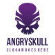 Angry Skull Logo - GraphicRiver Item for Sale
