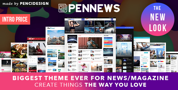 PenNews - Multi-Concept News/Magazine AMP WordPress Theme
